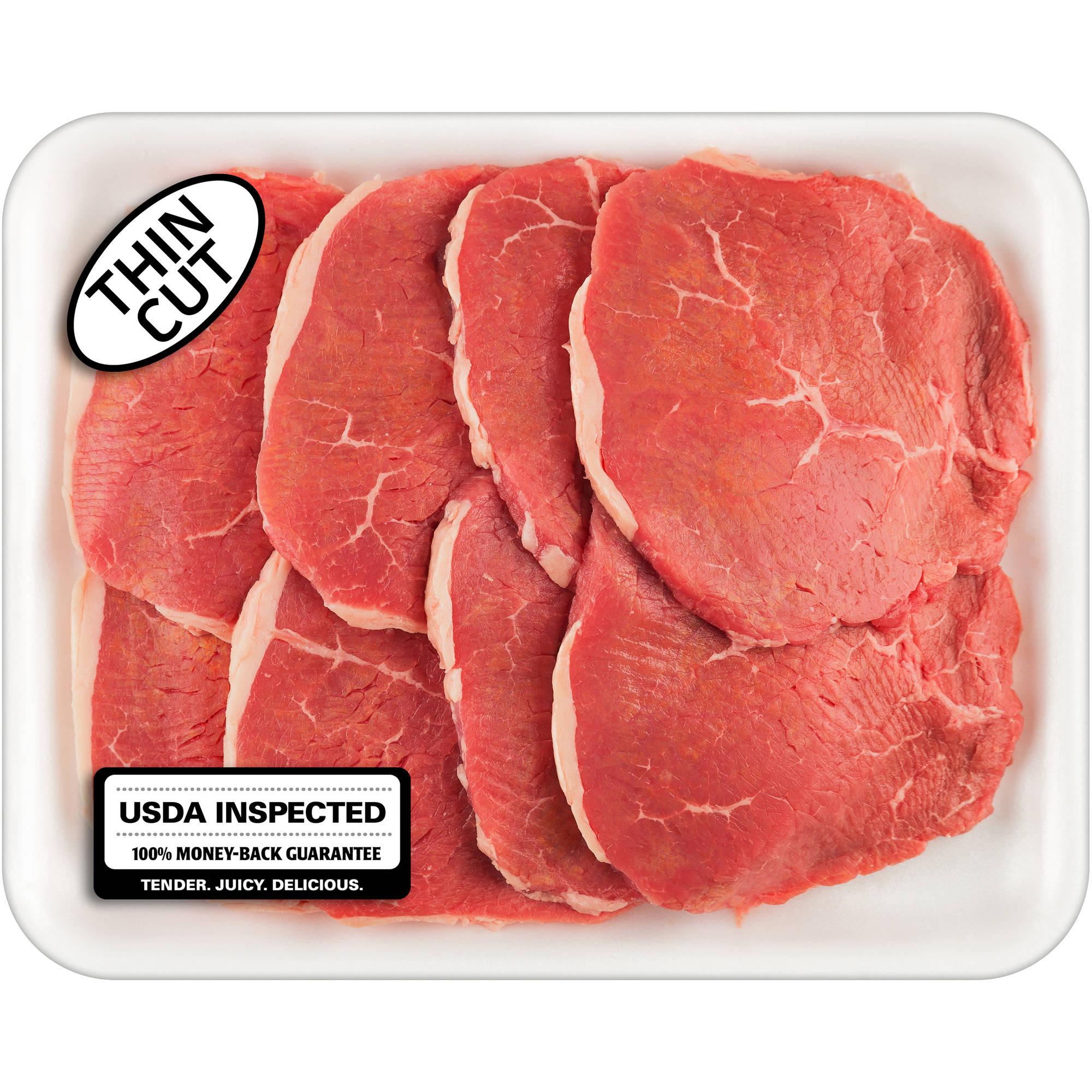 Fresh Meat Boneless Eye of Round Beef Steak