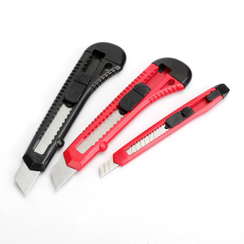 Hyper Tough 3 Pc Snap-off Utility Knife Set