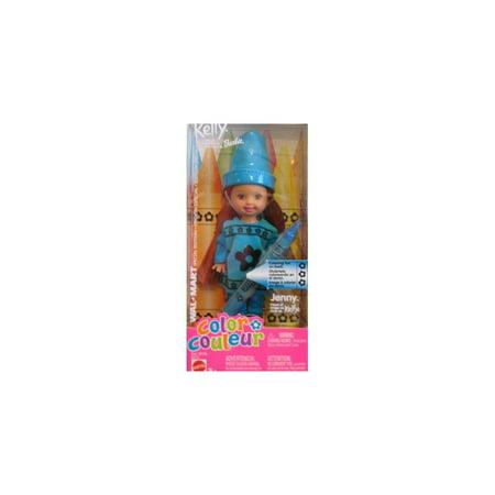 Jenny Fashion Doll - Barbie Kelly JENNY Color Doll (BLUE) Wal-Mart Special Edtion (2003)