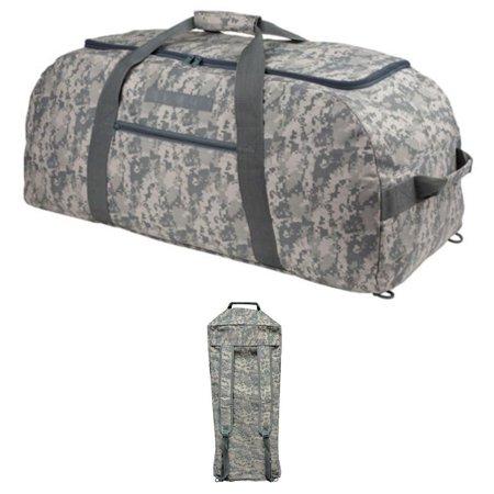 9143dc2acf7e Digital ACU Camouflage XLarge Big Duffle Bags Backpack Rucksack Military  Style Luggage - Walmart.com