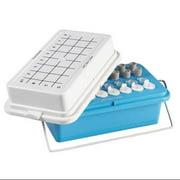 HEATHROW SCIENTIFIC HS120074 Cooler, Polycarbonate, 0.5-2mL