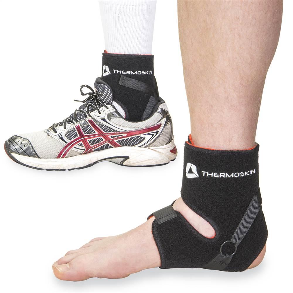 Thermo Skin Heel Rite in Black (Small)