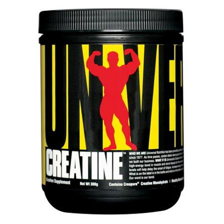 Universal Nutrition Creatine Powder, 300 g - Walmart.com