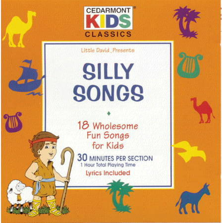 Classics: Silly Songs (CD) (List Of Halloween Songs For Kids)