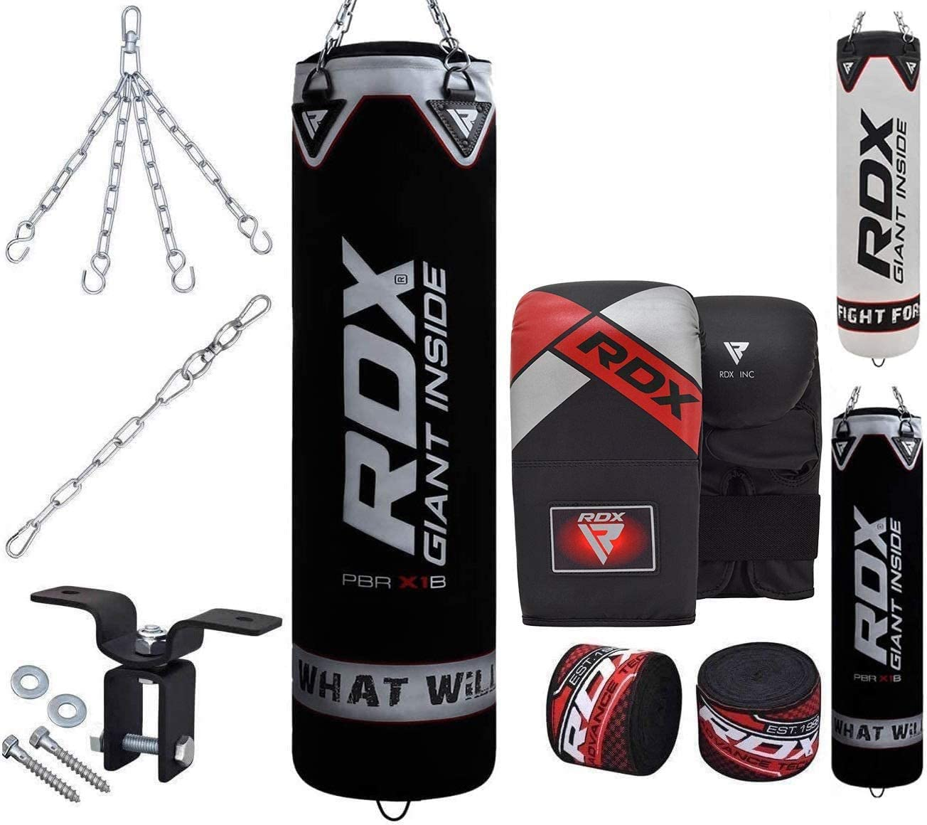 Punching Bag Indoor Outdoor Unfilled Hanging Boxing Heavy Bag for Adults Kids MMA Kickboxing Muay Thai Martial Arts Fight Karate with Chain Color : Green