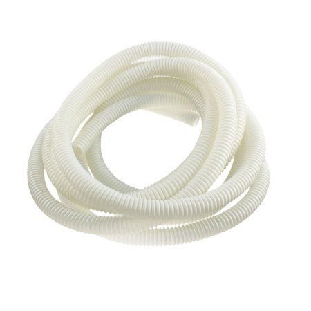 Plastic Air Conditioner Drain Pipe Water Hose 4 8 Meters Length White