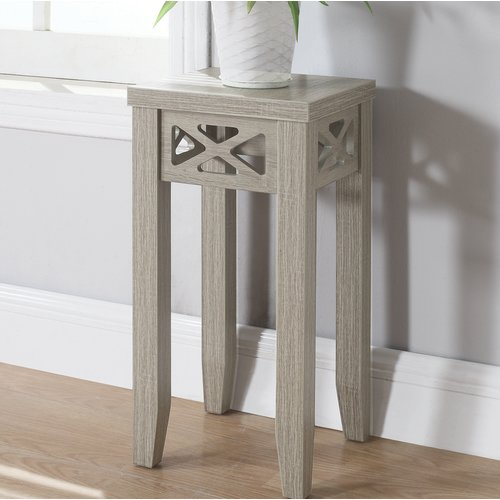 Coaster Accent Table in Dark Taupe by COA INC