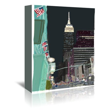East Urban Home Ny 6 Graphic Art On Wrapped Canvas
