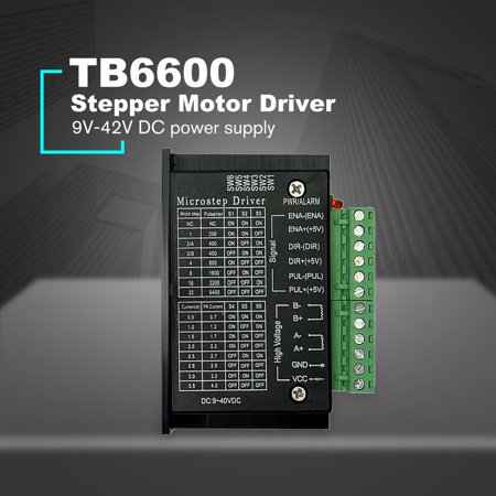 TB6600 4.0A Stepper Motor Driver 42/57/86 32 Segments Upgraded Version 42VDC for CNC Router machine Engraving Drilling - image 4 of 8