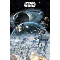 Star Wars Battle Poster Print (24 x 36)