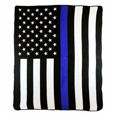 USA Police Thin Blue Line American
