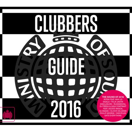 Ministry Of Sound: Clubbers Guide 2016 / Various (CD) (Ministry Of Sound Halloween Night)