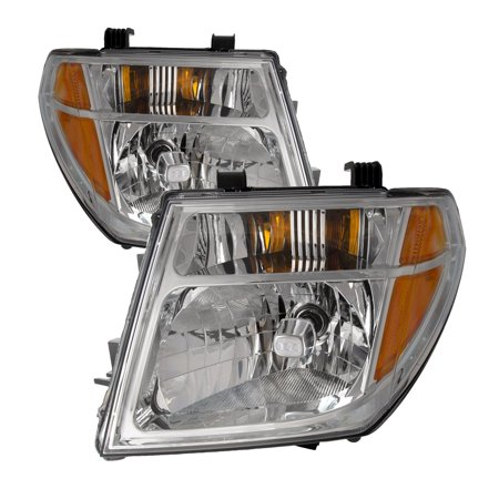 2005-2007 Nissan Pathfinder/2005-2008 Frontier New Headlights Set NI2502157 & NI2503157