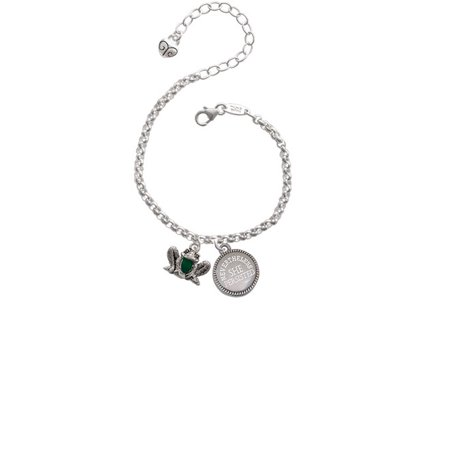 Frog Front Nevertheless She Persisted Engraved Bracelet