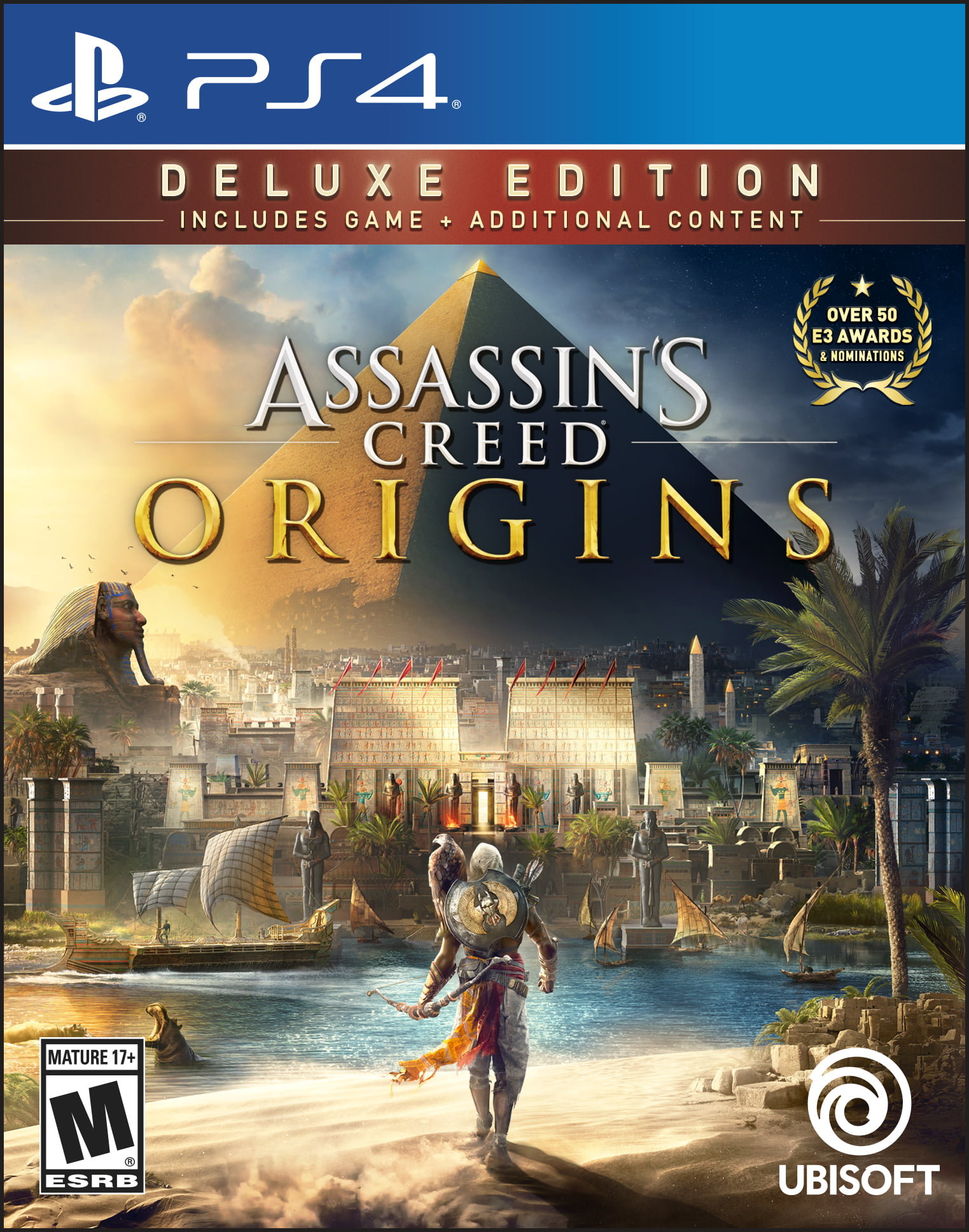 Assassin's Creed: Origins Deluxe Edition, Ubisoft, PlayStation 4, 887256028565 by Ubisoft