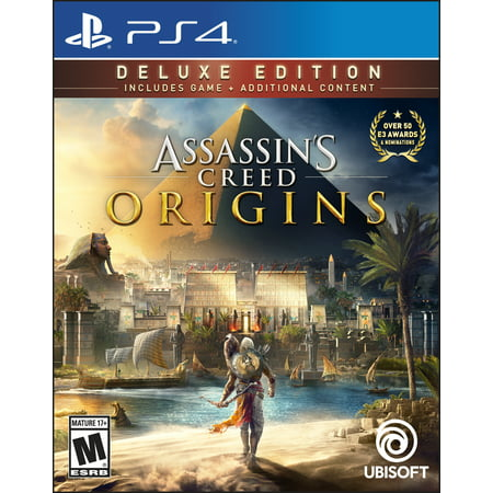 Assassin's Creed: Origins Deluxe Edition, Ubisoft, PlayStation 4, 887256028565 - Assassin Creed Suits