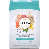 NUTRO ULTRA Senior High Protein Natural Dry Dog Food with a Trio of Proteins from Chicken, Lamb and Salmon, 30 lb. Bag