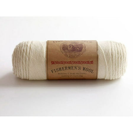 Lion Brand Yarn Fishermen's Wool Yarn, 465 Yd.