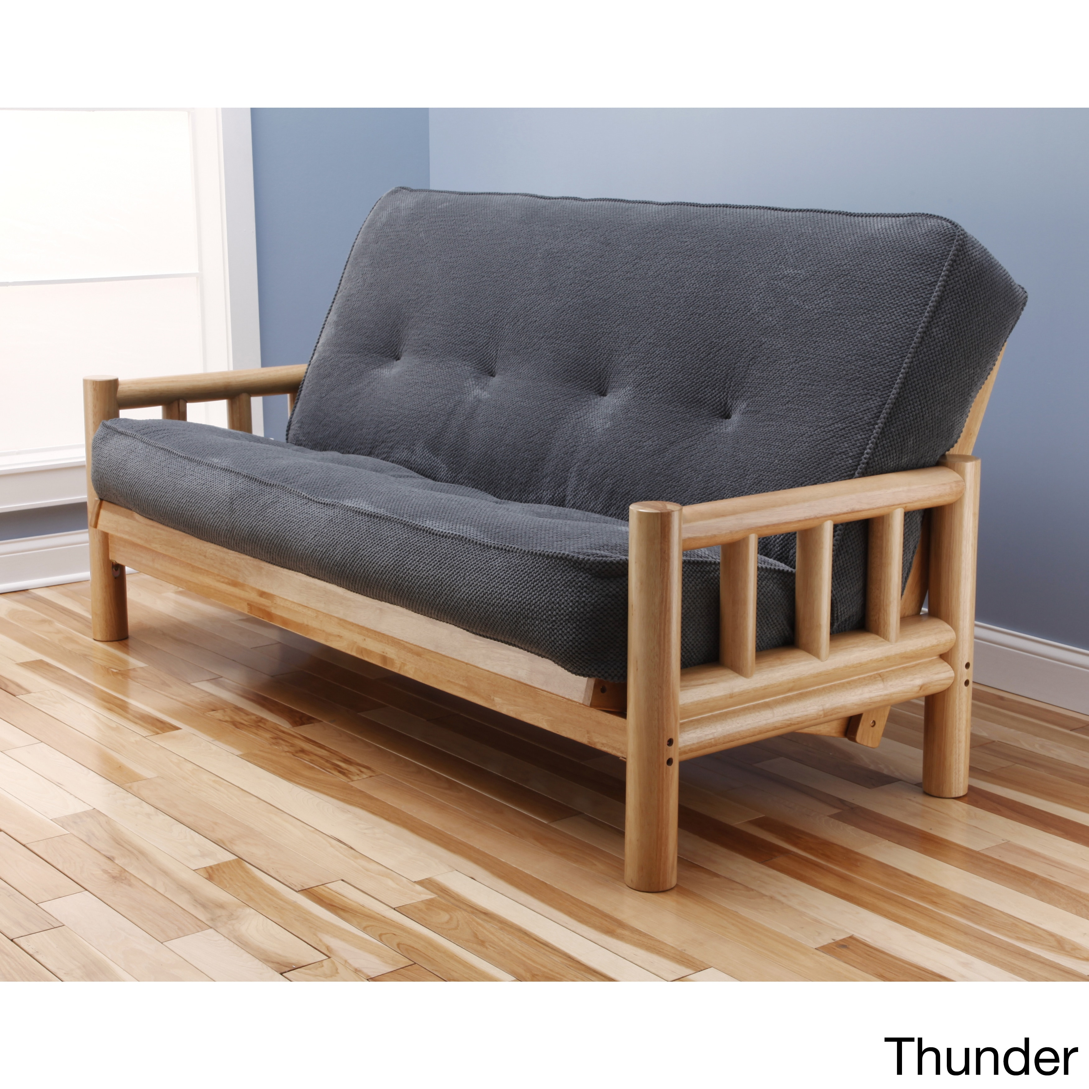 Somette  Lodge Full-Size Futon Set with Marmont Mattress