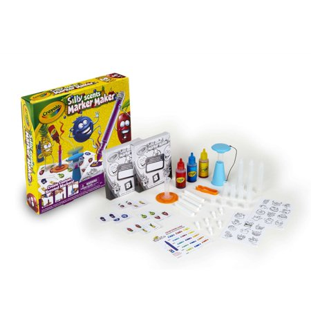 Crayola Silly Scents Marker Maker, Scented Markers, (Color Mixing Guide For Crayola Marker Maker)