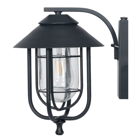 Honeywell Decorative Wall Lantern with LED Vintage Filament