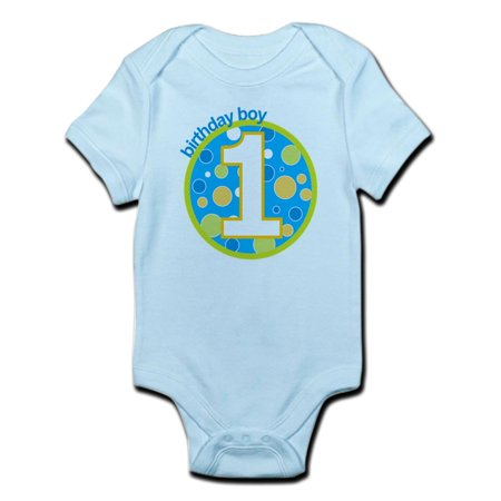 CafePress - First Birthday Boy T Shirts Infant Bodysuit - Baby Light Bodysuit - 1st Halloween Onesie