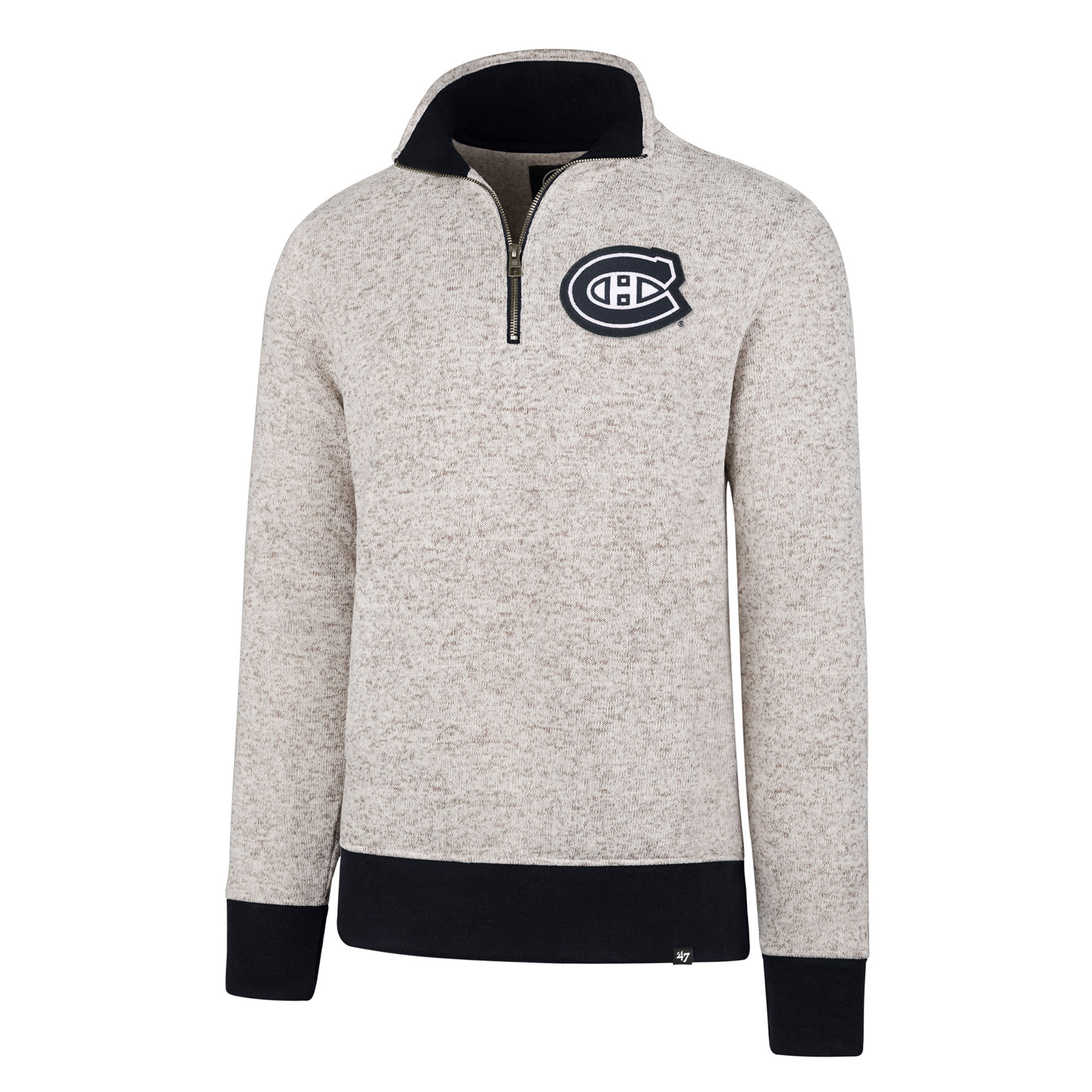 new product 3c9f6 1f640 Montreal Canadiens NHL '47 Kodiak 1/4 Zip Pullover | Walmart ...