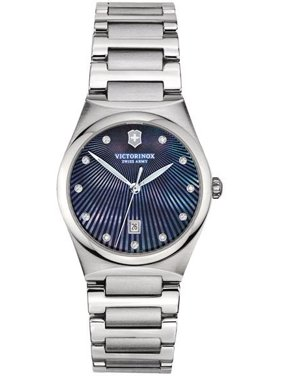 Swiss Army Victorinox Victoria Diamond Stainless Steel Ladies Watch 241536