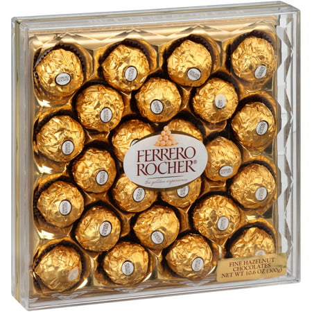 Ferrero Rocher ® Fine Hazelnut Chocolates 10.6 oz. Pack