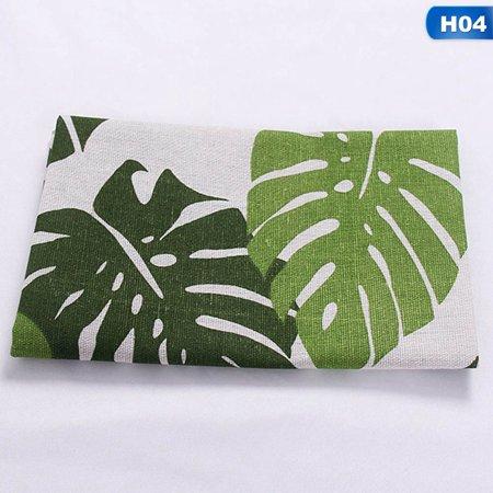 KABOER 1 Pcs Plaid Cotton Placemat Japanese Fashion Style Fabric Table Mats Napkins Simple Design Tableware Kitchen Tool ()