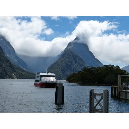 LAMINATED POSTER South Island Landscape Fiordland New Zealand Poster Print 24 x 36](New Zealand Police Halloween Poster)