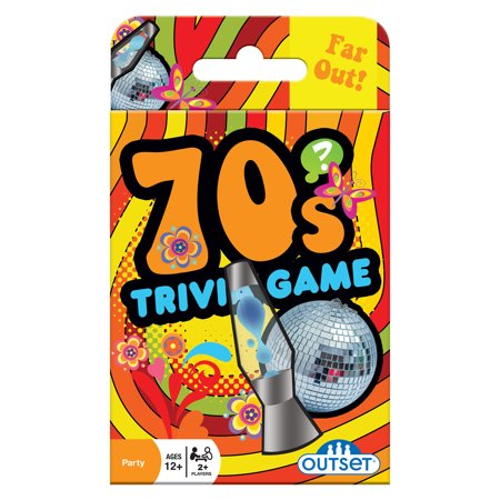 Trivia Card Set - Outset Media 70s Trivia Card Game