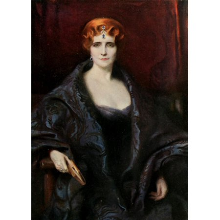 The International Studio 1916 Elinor Glyn Canvas Art   Philip Alexius De Lszl     18 X 24