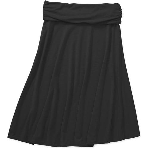 Concepts Women's Knit Foldover Skirt
