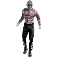 Guardians of the Galaxy Deluxe Drax The Destroyer Men's Adult Halloween Costume, 1 Size