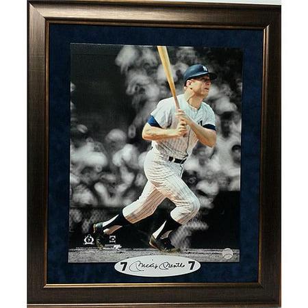 MLB 20x24 Suede Spotlight Frame, Mickey Mantle New York Yankees (Mickey Mantle Memorabilia)
