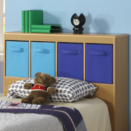 4D Concepts Boy's Twin Bookcase Headboard by 4D Concepts
