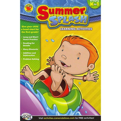 Summer Splash Learning Activities, Grades K - 1