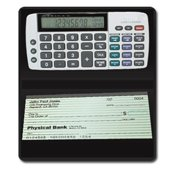 Teledex DB-413 Checkbook Calculator-Tracks Latest Savings  Checking  Credit Financial Entries