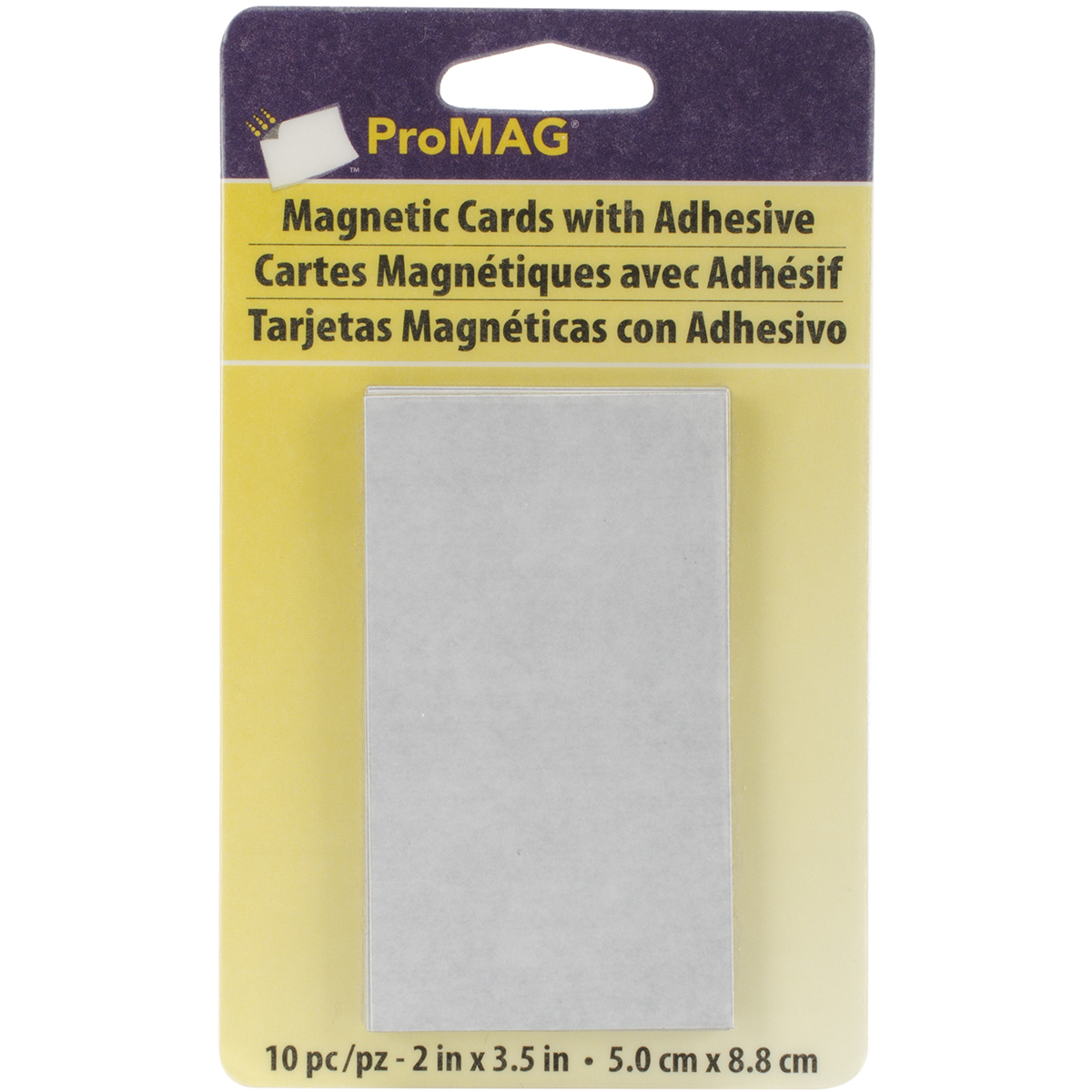 Adhesive Business Card Magnets, 10-Pack - Walmart.com