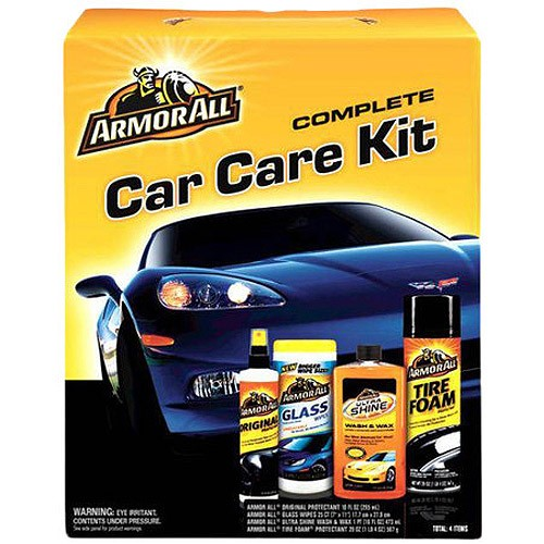 Armor 4-Piece All Complete Car Care Kit