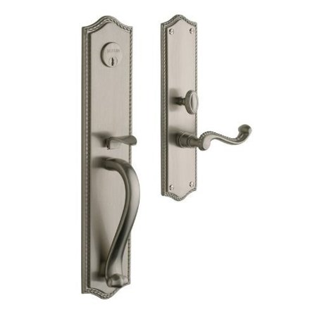 - Baldwin  6963.RENT  Keyed Entry  Bristol  Mortise Lock  Single Cylinder  ;Satin Nickel
