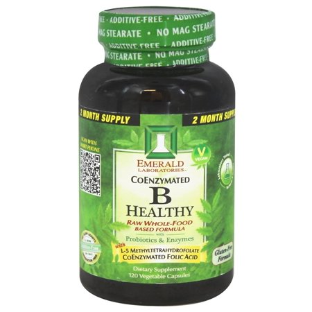 Emerald Labs Coral (Emerald Labs - CoEnzymated B-Healthy - 120 Vegetarian Capsules )