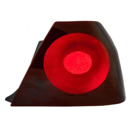 NEW TAIL LAMP ASSEMBLY QUARTER MOUNTED RH FITS 2000-04 CHEVROLET IMPALA 19169009