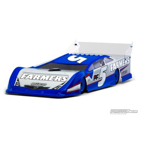 Pro-line Racing 1/10 Nor'easter Body, Clear: Dirt Oval Late Model, PRM123830 (Dirt Track Late Model)