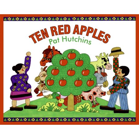 Ten Red Apples: Stories (Hardcover) Apples Number Line