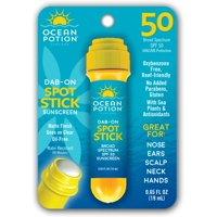 Ocean Potion Suncare Dab-On Sport Stick, SPF 50, 0.65 Oz.