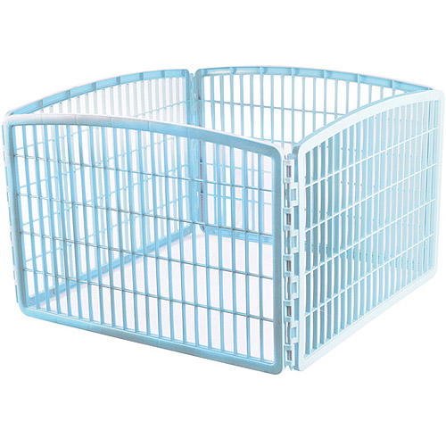 IRIS USA, Inc. Indoor/Outdoor Plastic Pet Pen