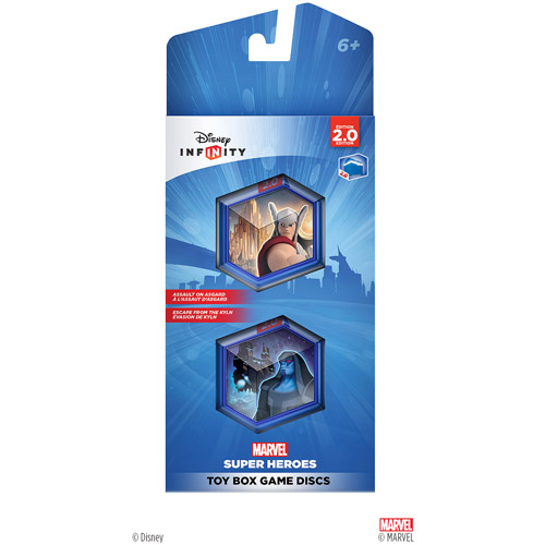 Disney Infinity: Marvel Super Heroes (2.0 Edition) Toy Box Game Discs (Universal)