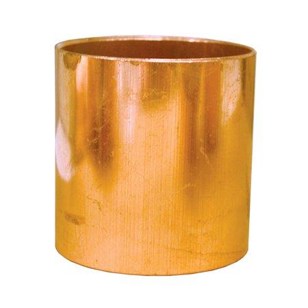 Copper Coupling Less Stop - 1/8